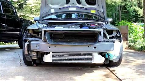 volvo  front bumper removal youtube
