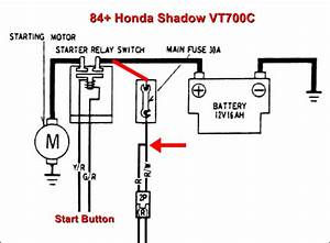 Vt700 Honda Shadow Wiring Diagram Honda Shadow Spark Plug