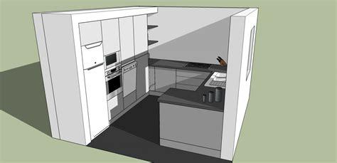 cuisine en 3d plan 3d cuisine aménagée sur mesure acn à rennes