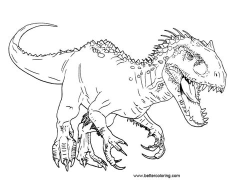 blue jurassic world coloring page coloring pages