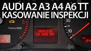 Kasowanie Inspekcji Serwisowej W Audi A2  A3 8l  A4 B6  A6