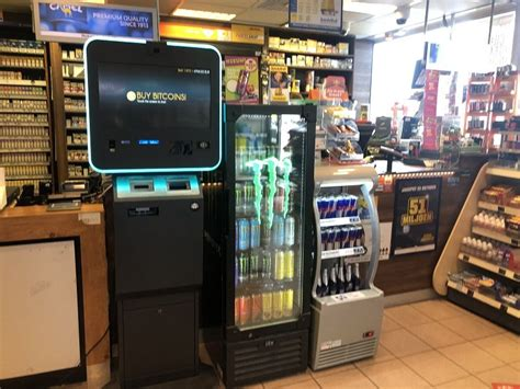 Bitcoin atm machines are not atm's in the traditional sense and probably use the wording atm as a neologism. Bitcoin ATM in Hoofddorp - Paxshop