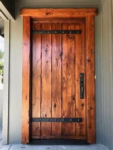 Rustic, Front, Door, Hand, Built, By, Bcf, Heritage, Llc