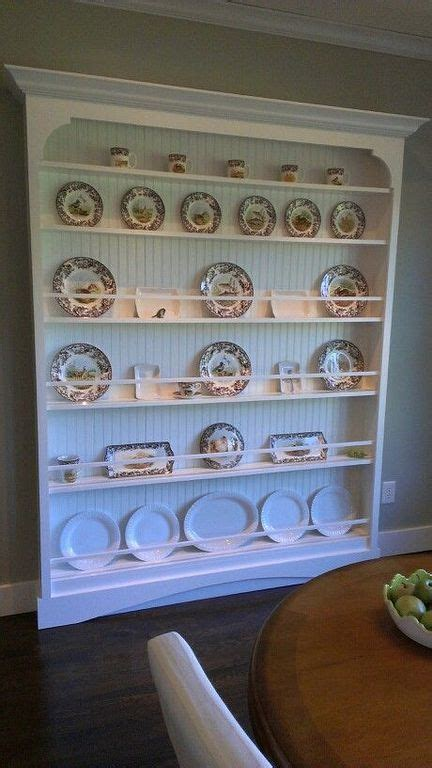 wooden wall plate rack designs  small kitchen