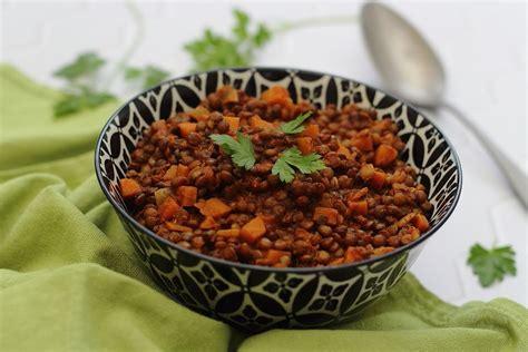 lentilles  carottes aux epices amandine cooking