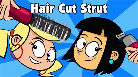 songs hair cut strut animated children s 203 | maxresdefault