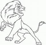 Lion Coloring Printable 1nza sketch template