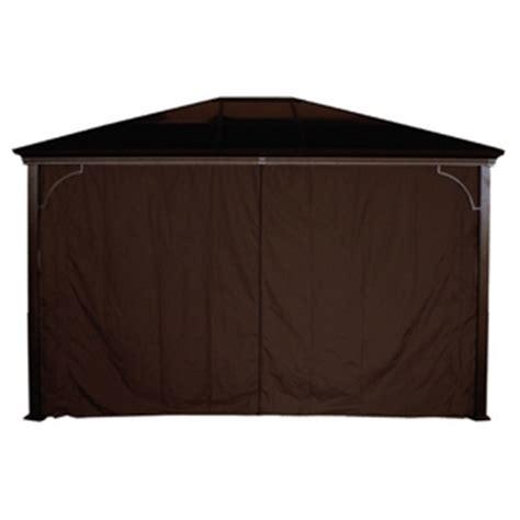 sojag 10 privacy curtain for sumatra gazebo home