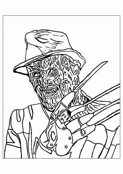 Myers Michael Coloring Pages Printable Sheets