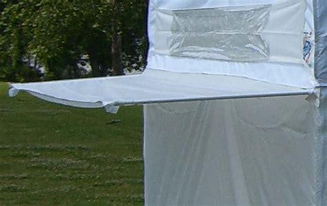 ez  tent accessories amazoncom    envoy instant shelter canopy    blue