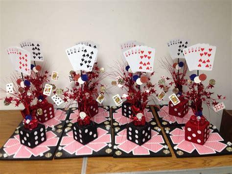 casino themed centerpieces