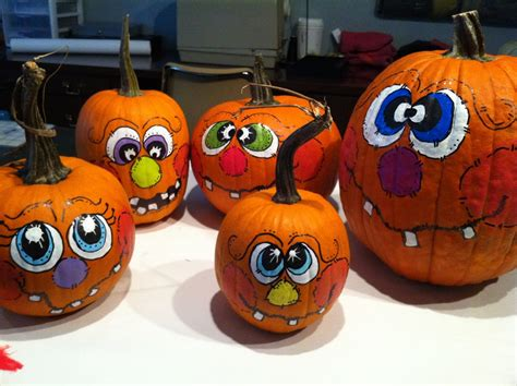 how to paint pumpkins our garden path painting pumpkin faces
