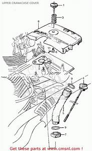 Honda Cl77 Scrambler 1965 Usa    305 Upper Crankcase Cover