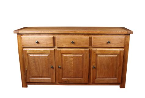 Windsor Rustic Oak Dining Room Furniture 3 Door Sideboard