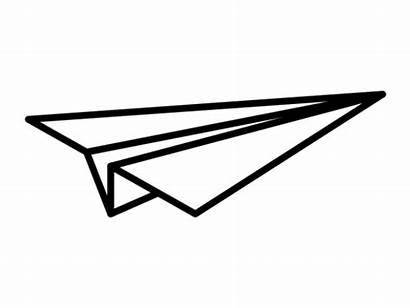 Paper Airplane Tattoo Vector Minimal Shirt Svg