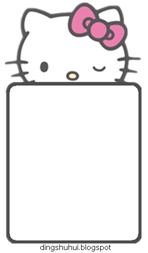 kitty frame png  kitty