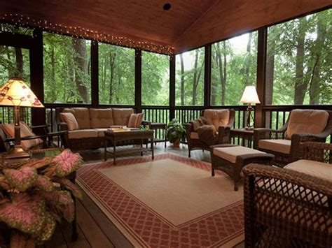 Screened Porch Decorating Ideas by Screen Porch Ideas On Decks Screened