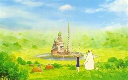 Miyazaki Hayao Wallpapers Cat Returns Ghibli Studio