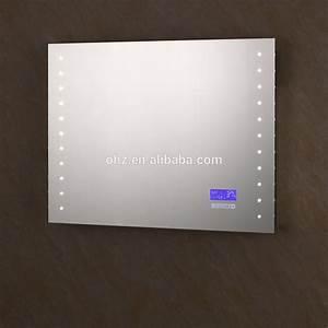 2016 vente chaude salle de bains mur miroirs avec led With miroir salle de bain avec radio