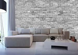 Papier Peint Blanc Relief : tapisserie brique relief avec papier peint salon noir et blanc idees et motifs pas juste un ~ Melissatoandfro.com Idées de Décoration