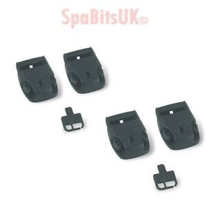 tub cover locks 4 set of replacement tub cover locks for straps pinch