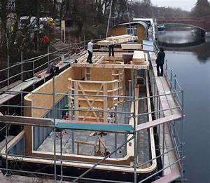 Hausboot Bauen Anleitung : hausboot auf dem eilbekkanal in hamburg detail inspiration ~ Watch28wear.com Haus und Dekorationen