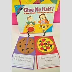 Fraction Fun First Grade Buddies Ten Pin Linky Math Ideas  Math  First Grade Pinterest