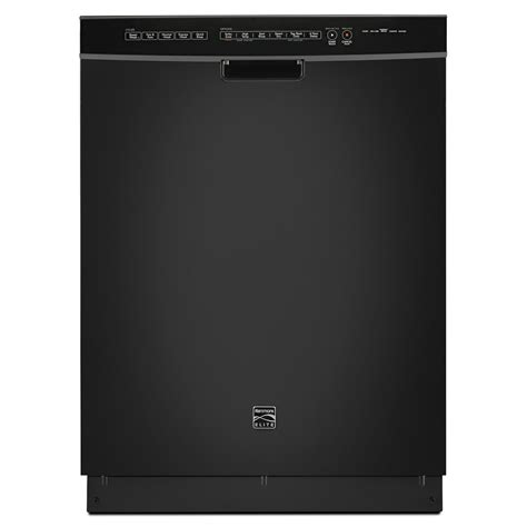 """Kenmore Elite 14749 24"""" Builtin Dishwasher Black"""