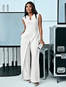 NY&C: 7th Avenue - White Seamed Jumpsuit