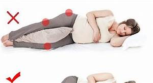this is the correct sleeping position during pregnancy With best way to lay for back pain