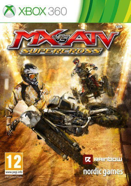 mx  atv supercross videojuego xbox  pc  ps