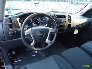 2013 Chevrolet Silverado 1500 Lt Extended Cab 4x4 Ebony Dashboard Photo  71761892