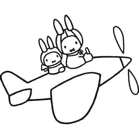 Miffy Coloring Pages - Eskayalitim