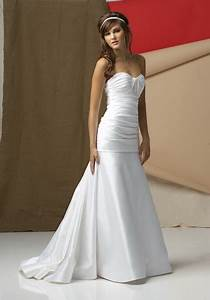 white simple wedding dresses With white simple wedding dress