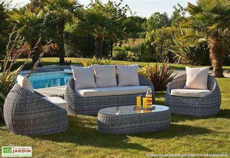 salon de jardin modulo table extensible 4 fauteuils 5 coloris wilsa