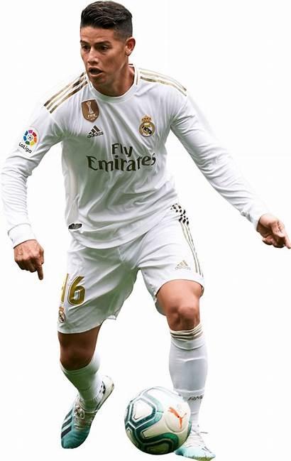 Rodriguez James Render Football Footyrenders