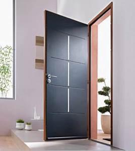 porte dentree comment bien la choisir marie claire maison With porte d entrée alu avec vitre pour salle de bain