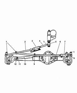 2006 Dodge Ram 2500 Linkage  Steering