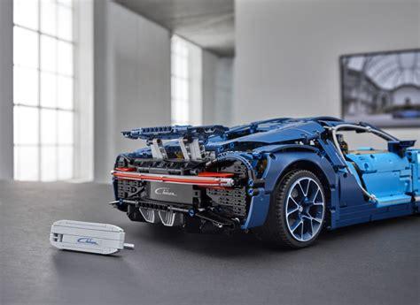 aankondiging lego technic  bugatti chiron