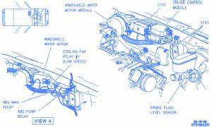Oldsmobile Aurora 1996 Electrical Circuit Wiring Diagram
