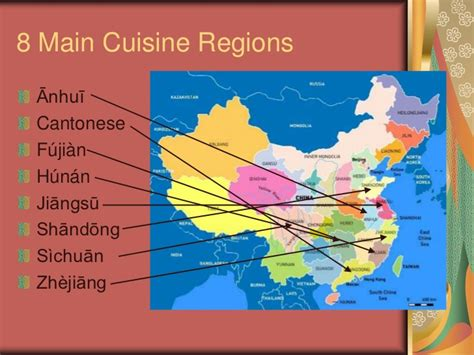 cuisine by region food