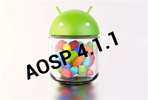jelly bean android aosp 4 1 1 released developers start your engines