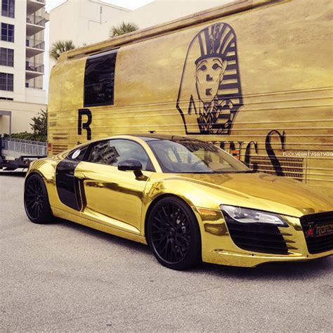 gold porsche truck black and gold audi r8 exotic cars pinterest tyga