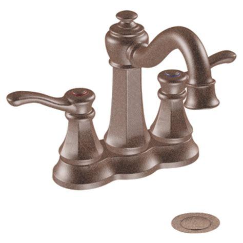4 spread faucet moen 6301orb vestige two handle lavatory faucet with drain