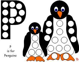 penguin magnet pages