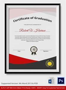 Sample Of Certificate Of Achievement 20 Graduation Certificates Sample Templates