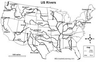 US Rivers EnchantedLearningcom Download Map Usa Rivers And - Us map with rivers and mountains