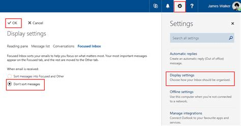Office 365 Outlook Focused Inbox by How To Disable Outlook S Focused Inbox Onmsft Onmsft