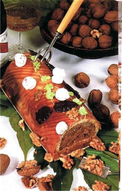cuisine cevenole recette pâtisserie fête bûche cévenole