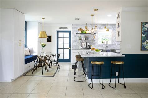 Fresh White Based Dining Spaces by Budget Breakdown An 80s Kitchen Gets A Fresh Look For